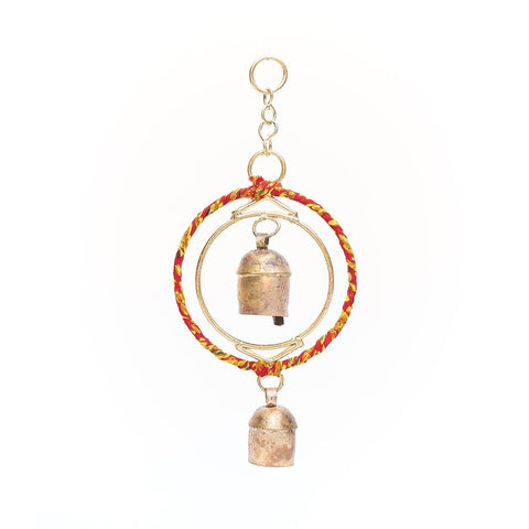 Ushas Sari Twist Mini Chime