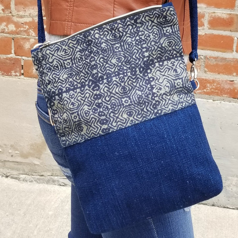 Boho Folding Cross Body Pouch