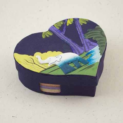 Mr. Ellie Pooh Notebox - Heart