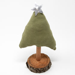 Upcycled Sweater Tree