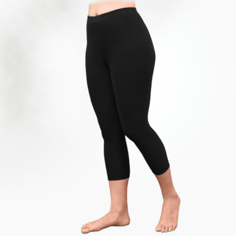 Organic Cotton Basic Leggings - Midcalf