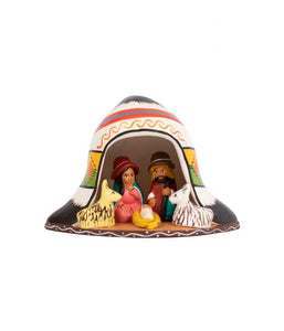 Andean Hat Nativity