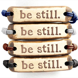 MudLove Bracelet - Be Still