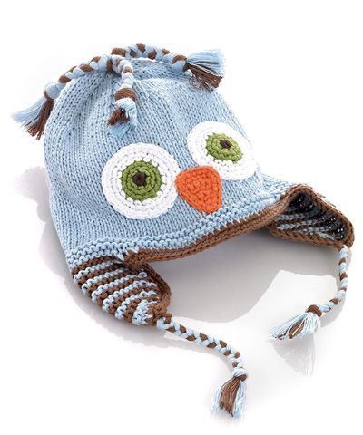Pebble Owl Hat