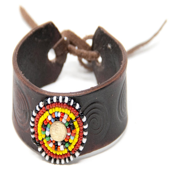 Maasai Leather Bracelet
