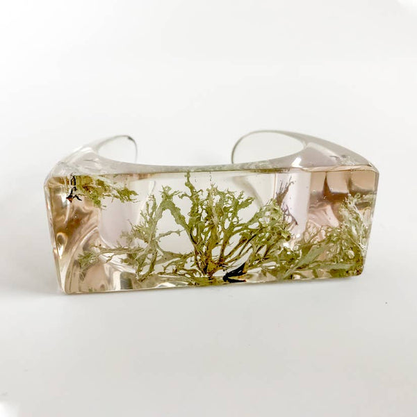 Botanical Thin Moss Cuff