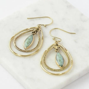 Adela Dangle Earrings