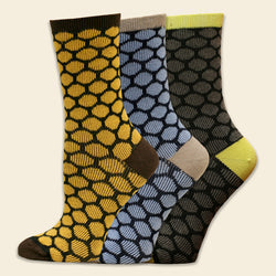 Organic Cotton Sock - Bee Keeper