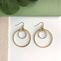 Borealis Hoop Earrings