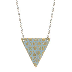 Tila Shard Necklace Pale Blue