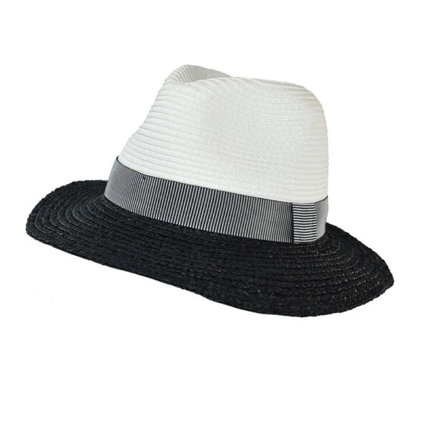 Panama Two-Tone Hat