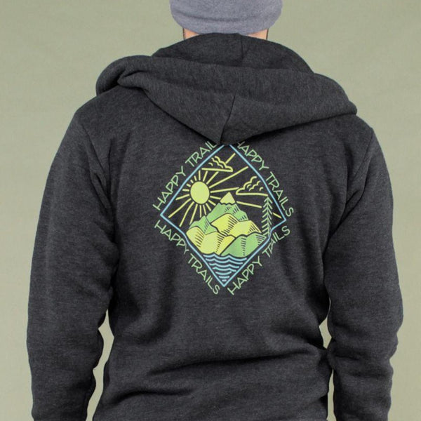 Happy Trails Eco Zip Hoodie