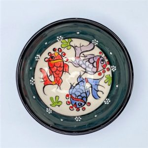 Ceramic Fish Bowl - 10cm