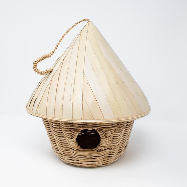 Hat Roof Birdhouse