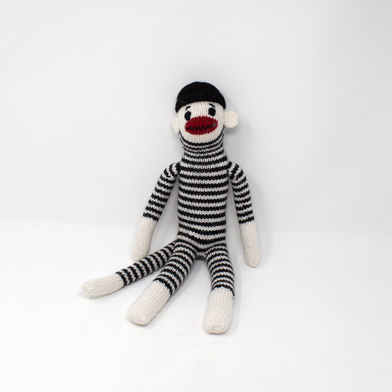 French Sock Monkey