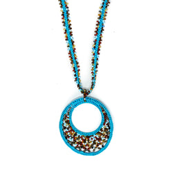 Round Beaded Necklace