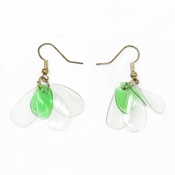 Quench Leaf Recycled Earrings