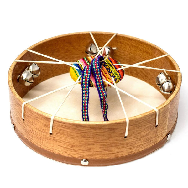 Tambourine Drum with Bells