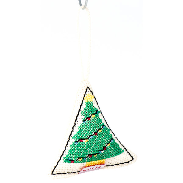 Hand Stitched Ornament