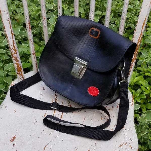 Revved Up Button Bag