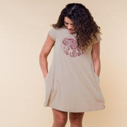 Twisted Trunks T-Shirt Dress