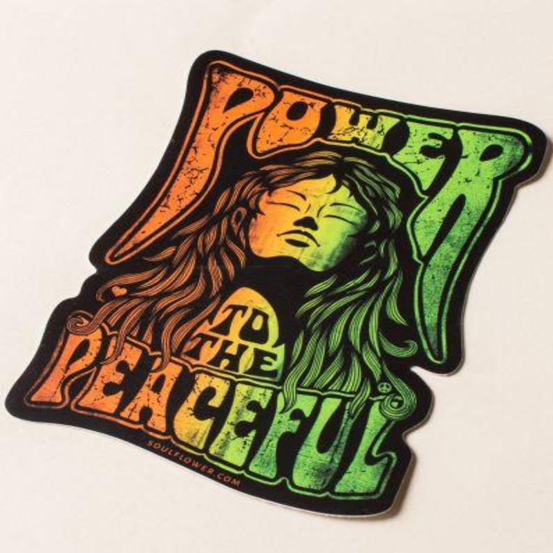 Soul Flower Sticker