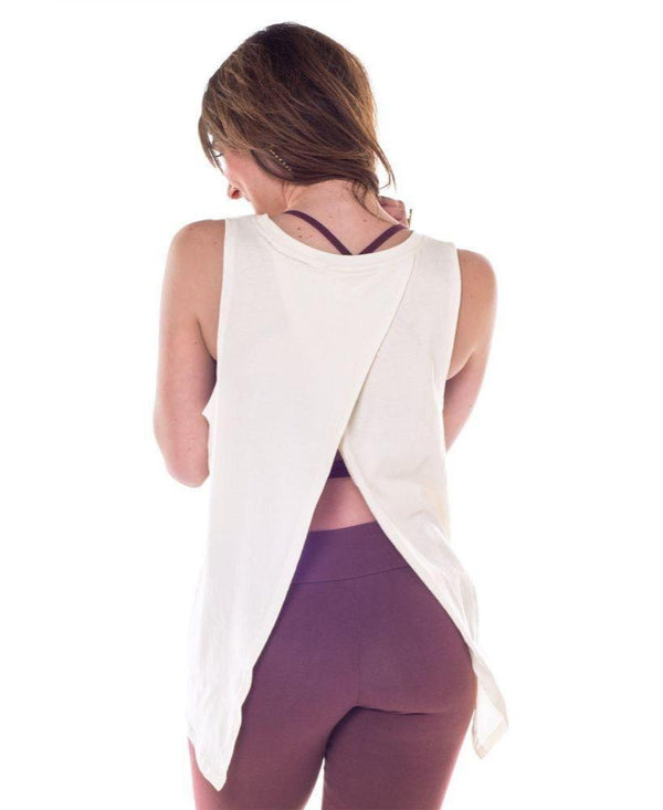 Love & Light Open Back Tank