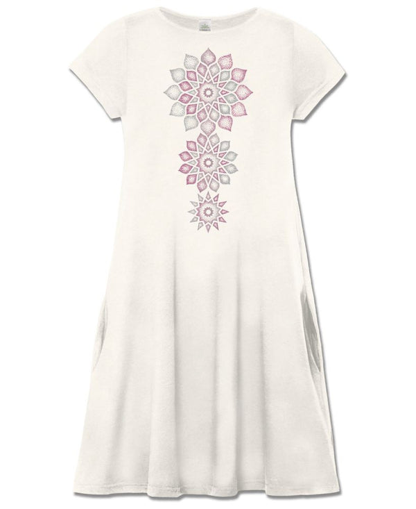 Eternal Bloom Organic T- Shirt Dress