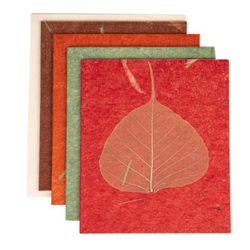 Leaf Silk Card