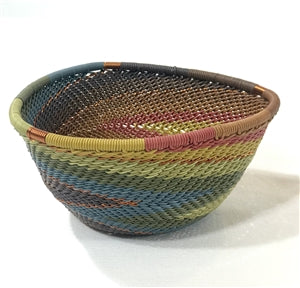 Telephone Wire Triangle Bowl