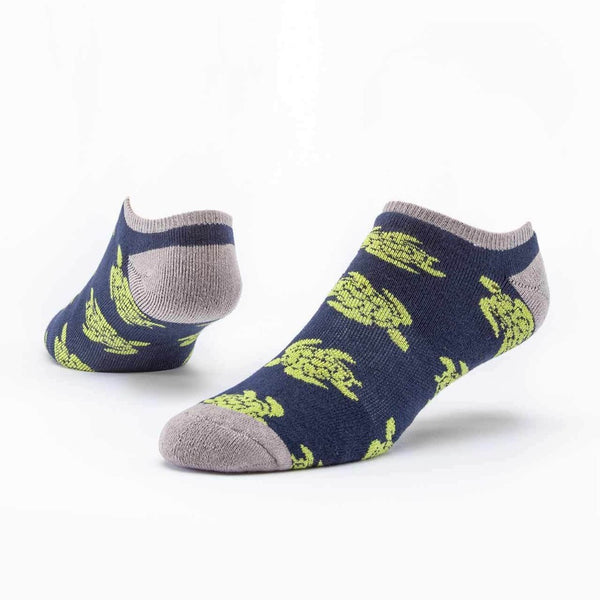 Organic Footie Turtle Socks