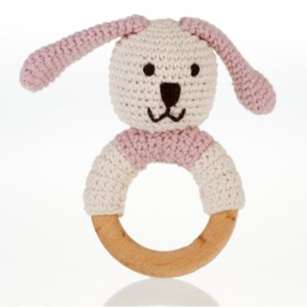 Organic Wooden Ring Rattle