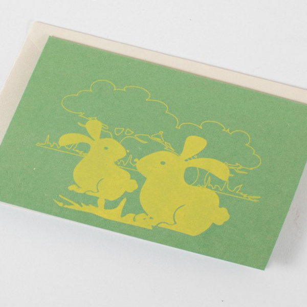 Pop Up Bunny Card