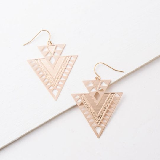 Cici Geometric Dangle Earrings