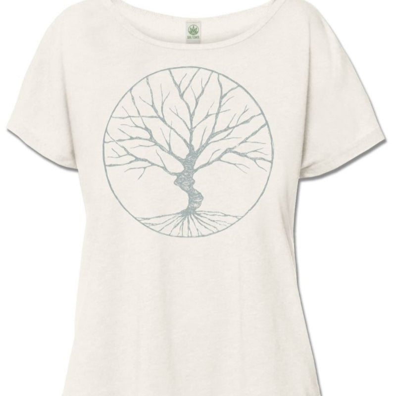 Peaceful Tree Slouch Top