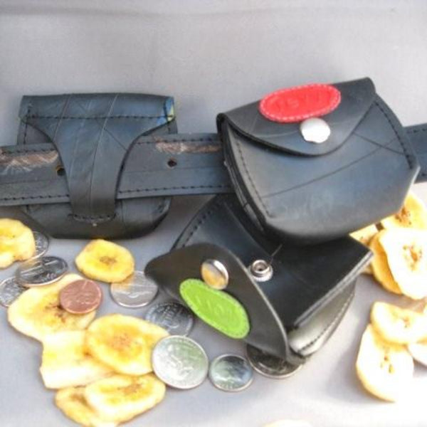 Revved Up Belt Loop Coin Purse