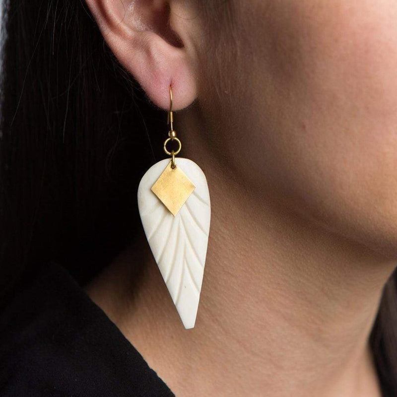 Anika Earrings - Wings