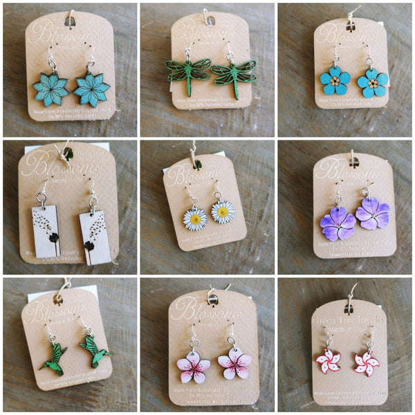 Eco Blossom Earrings