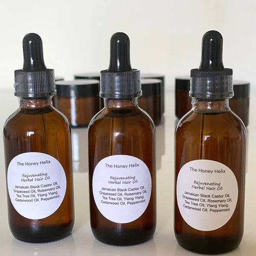 Rejuvenating Herbal Hair Oil