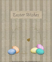 Load image into Gallery viewer, Easter Wishes Preprinted BOM