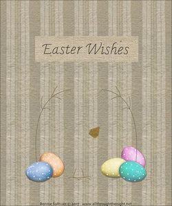 Easter Wishes Preprinted BOM