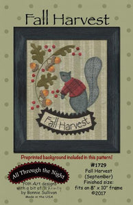 Fall Harvest September Preprinted BOM