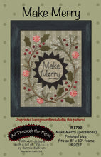 Load image into Gallery viewer, Make Merry December Preprinted Panel BOM