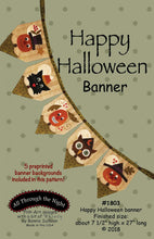 Load image into Gallery viewer, Happy Halloween Banner
