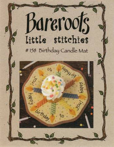 Birthday Candle Mat
