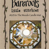 In The Woods Candle Mat