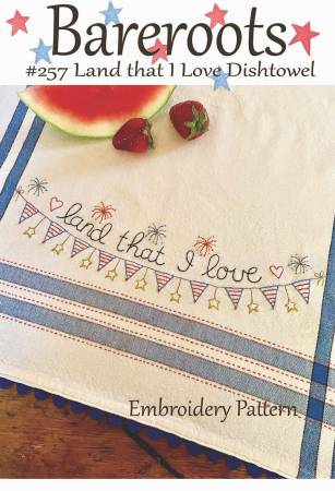 Land that I Love Dishtowel