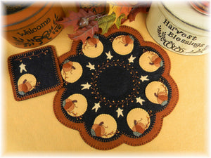 Harvest Moon Candle Mat