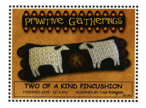 Two of a Kind Pincushion