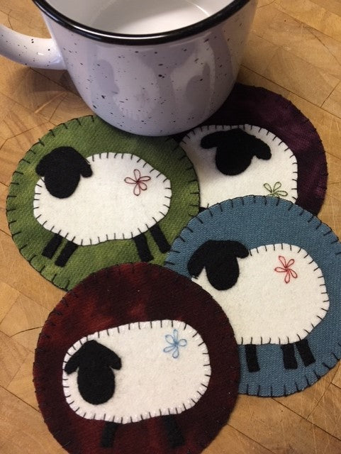Sheep Coaster Kit